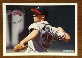 Greg Maddux - Braves HOF 1994 Fleer  #365 - Fast Shipping - $1.97