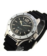 Vostok Amphibian 120695 Military Russian Diver Watch Scuba Dude Black Auto - $68.38