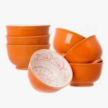 "7 Days 7 High Quality Large 6"" Ceramic Cereal Soup Pasta Bowls Ceramic B... - $25.06"