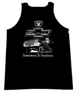 Felix The Cat With The Raiders Logo and A Chevy Impala Men's Tank Tops - $19.80