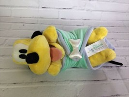 Disney Parks Exclusive Babies 10in Pluto Baby Plush Stuffed Animal Toy & Blanket - $20.56