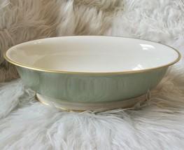VTG Franciscan Palomar Jasper Light Green Oval Serving Bowl Vegetable Dish USA - $50.00