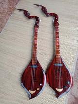 New!! Thai Isaan Phin mandolin folk musical instrument,Teak,wonderful so... - $183.15