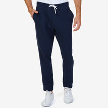 Nautica Men's Slim Fit French Terry Jogger Pants Navy Size Large - $39.35