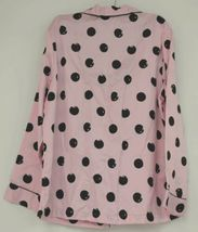 Morgan Taylor Intimates Pink Dot Pajama Set Adult Medium Grade B image 4