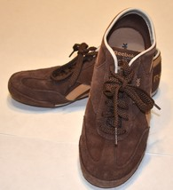 Reebok Sneakers  Shoes  Classic Brown Beige Suede Leather USA 7 EUR 37.5... - $21.50
