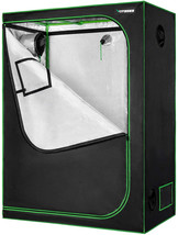 VIVOSUN 48 x24 x60  Mylar Hydroponic Grow Tent with Observation Window a... - $92.99+