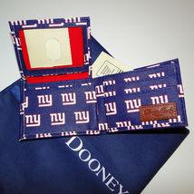 Dooney & Bourke NFL New York Giants Billfold Wallet Navy image 6