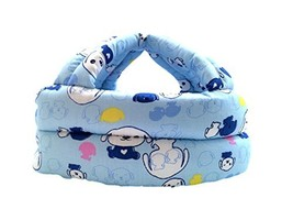 Baby Protective Hat Blue Puppy - $25.61