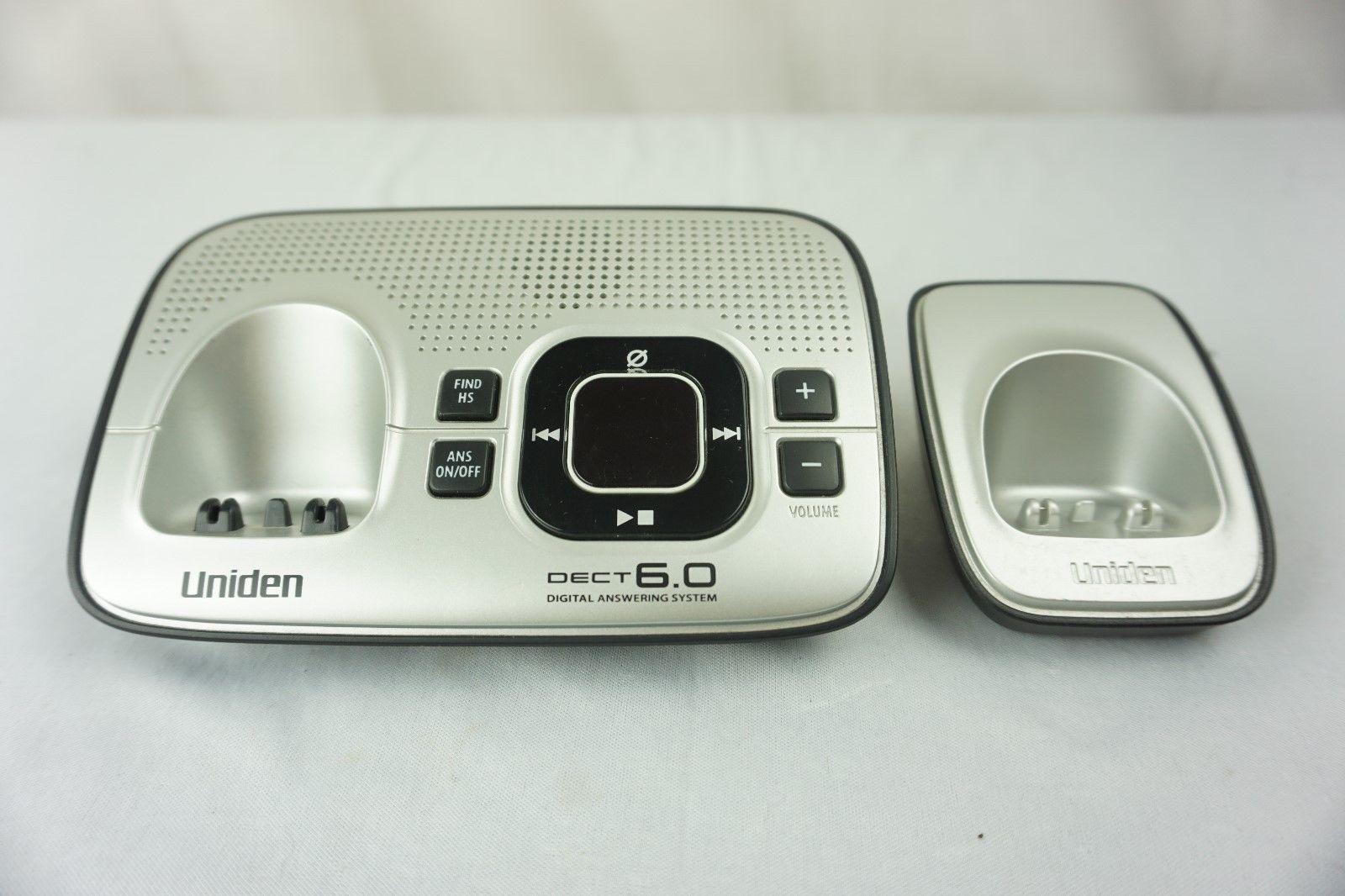 Uniden D1680-3 DECT 6.0 Cordless Phone Answering System 3 Handsets Expandable image 3