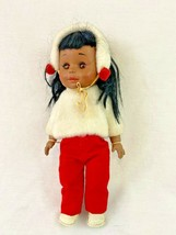 Vintage Vogue Doll 1964 African American Winter Jacket Earmuff - $29.69
