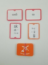 Hooked On Phonics Learn To Read 1st Grade Red Orange Replacement Flash C... - $12.64