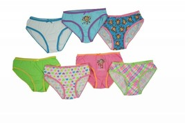 Girls New Panties Underwear for Kids 5 Pairs Cute Assorted Graphics Patt... - $9.99