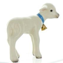 Hagen Renaker Miniature Lamb Large with Bell Ceramic Figurine image 6
