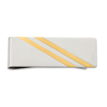 Sterling Silver Money Clip (Length=50) (Width=20) [Qq155] - $71.94