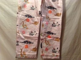 NEW The Cats Pajamas Thick Pant w Long Sleeve Top Cat Themed Set Sz S image 8