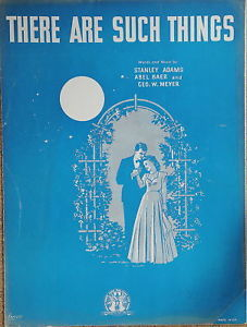 Primary image for There Are Such Things- Sheet Music