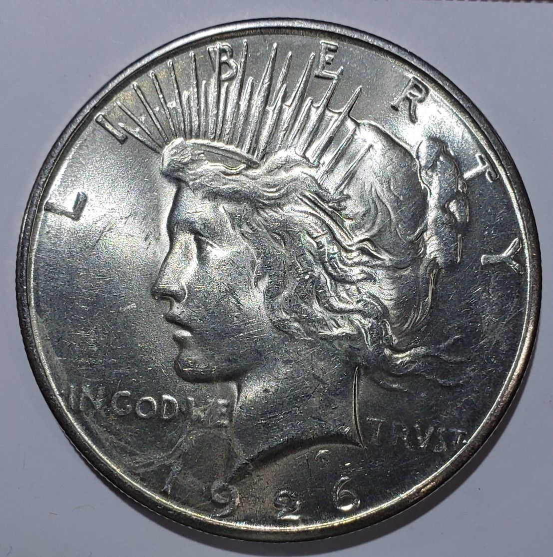 1926S Peace Silver Dollar Coin -  Lot # 818-67