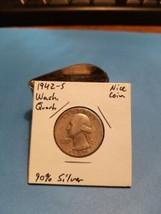 1942- S Washington Quarter Better Date 90% Silver!!! LOOK!!!  - $5.94