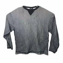 Cross Colours Vintage Lined Mesh Shirt Hip Hop Logo Rare 1990s Adult XL - $31.28