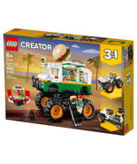 NEW LEGO Creator Monster Burger Truck --FREE SHIPPING-- - $64.99