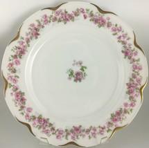 Haviland Limoges Schleiger 498 (var.) Dinner plate - $25.00