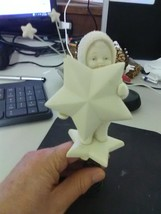 """Dept 56 Snowbabies Tree Topper - """"I'm the Star Atop Your Tree"""" - $9.15"""
