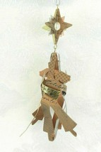 Hallmark Christmas Ornament - 2002 Celebrate Metal Entwined Dancers  - $12.86