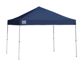 Quik Shade Weekender 10x10' Straight Leg Canopy-Twilight Blue Cover/Silver Frame - $199.09