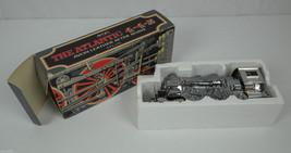 1970's Railroad Train The Atlantic 4-4-2 After Shave Bottle w/ Original ... - $18.66