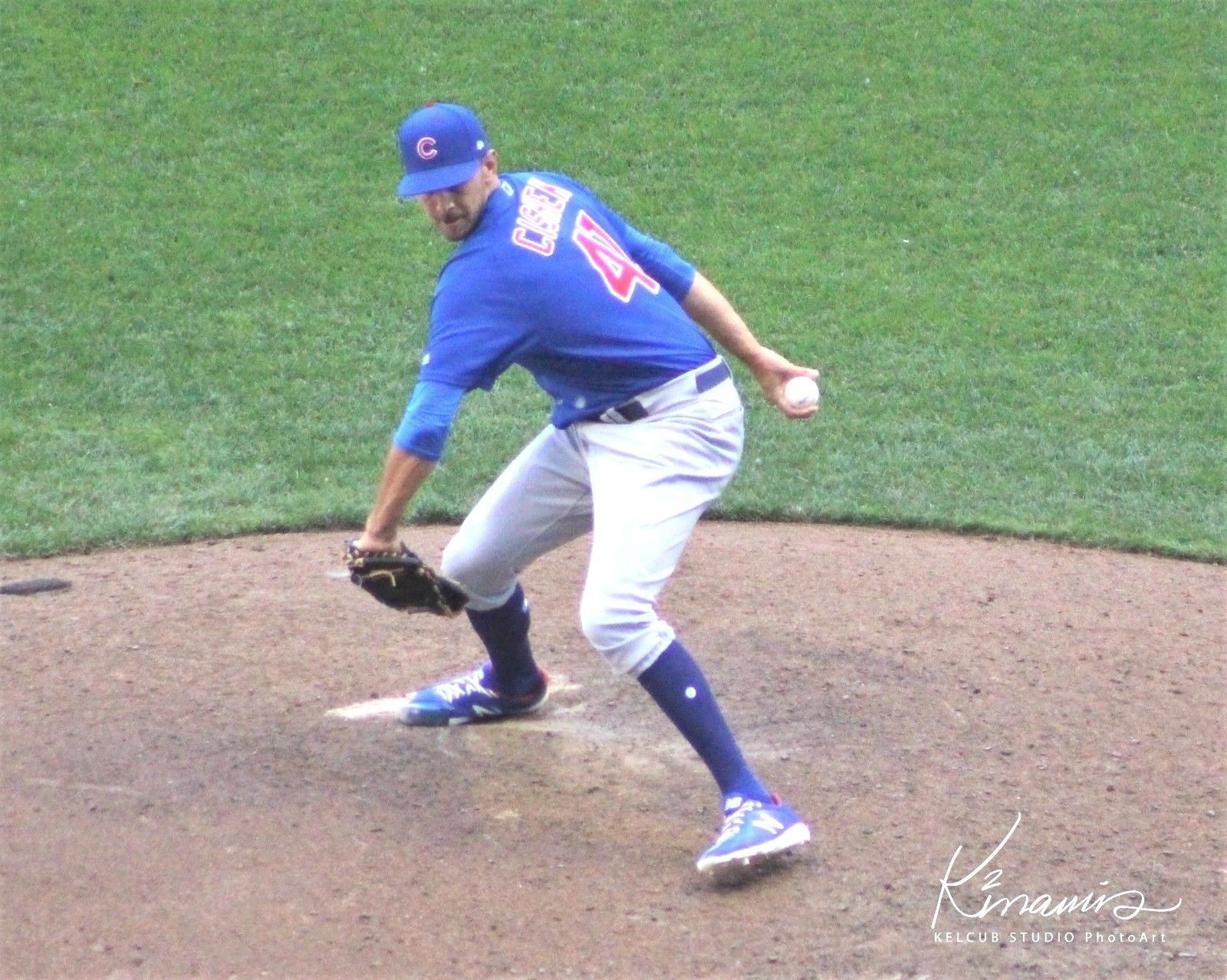 Primary image for Steve Cishek Chicago Cubs Original Action Pic Var Sizes & Options 2018 Reliever