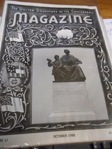 Great Collectible THE UNITED DAUGHTERS OF THE CONFEDERACY Magazine Octob... - $8.50