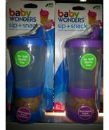 Baby Wonders Sip + Snack - $5.93