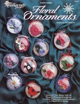 Floral Ornaments, Plastic Canvas Pattern Booklet TNS 943379 Flower Ornam... - $4.95