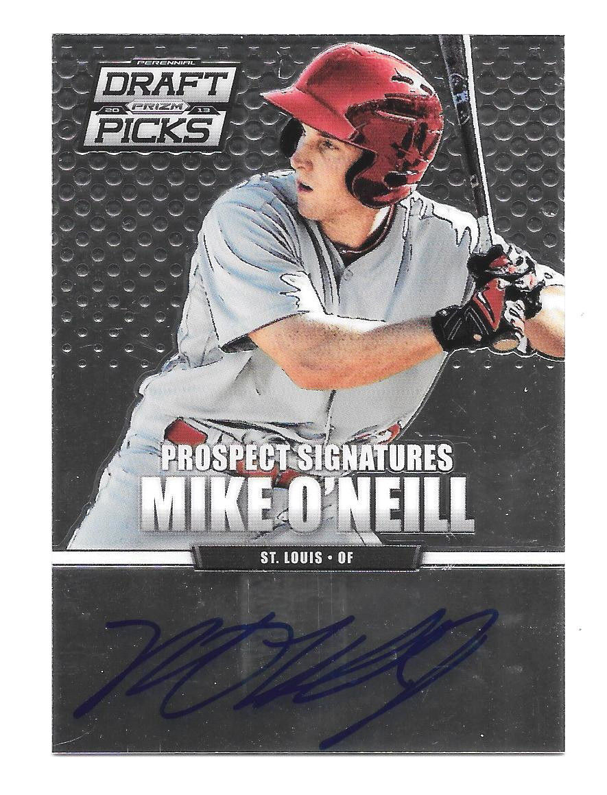 Primary image for 2013 Mike O'Neill Panini Prizm Draft Picks Rookie Auto - St. Louis Cardinals
