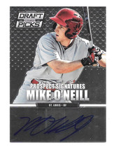 2013 Mike O'Neill Panini Prizm Draft Picks Rookie Auto - St. Louis Cardi... - $1.89