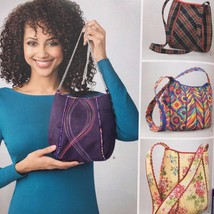Simplicity Sewing Pattern 1597 Accessories Bags New - $14.77