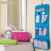 Bag Cosmetic Storage Wall Mounted Multifunctional Portable Folding Stora... - $8.99