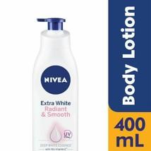 NIVEA Extra White Radiant & Smooth Body Lotion w Vitamin C 400ml x 4 NEW - $76.03