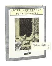 Hotel Lautreamont [Hardcover] Ashbery, John image 2
