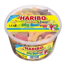 Haribo Kiddies Big Box Sour Bears Collection Xl 1300g- From Germany-FREE Ship - $37.61