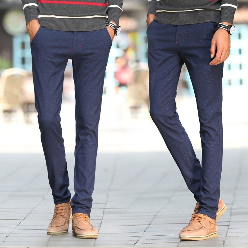 Autumn Business Casual Pants Men's Trousers