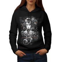 Gothic Asian Lady Sweatshirt Hoody Geisha World Women Hoodie - $21.99+