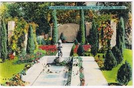 Georgia Postcard Augusta Underwood Gardens - $2.25