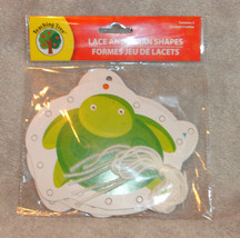 TEACHING TREE LACE & LEARN SHAPES SEA ANIMALS NEW IN PACKAGE - $5.89