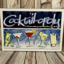 COCKTAIL-OPOLY Board Game by Late for the Sky Cocktailopoly  - $24.24