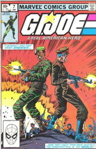 G.I. Joe A Real American Hero Comic Book #7 Marvel Comics 1983 VERY FINE+ - $17.34
