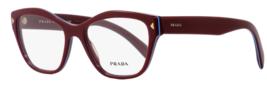 Prada Butterfly Eyeglasses VPR27S UF91O1 53 Amaranth/Azure 53mm PR27SV - $376.20