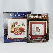 Counted Cross Stitch Kits Lot of 2 Quilt & Apples Quilter & Friend By Ho... - $19.80