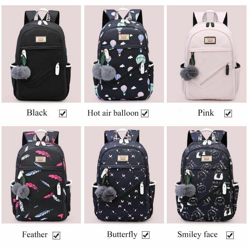Women Backpack Travel Anti Theft Design Large Capacity Teenage Girl School Bags image 5